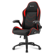 Sharkoon Elbrus 1 Universal gaming chair Padded seat Black, Red