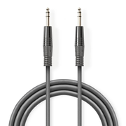 Nedis COTH23020GY15 audio cable 1.5 m 6.35mm Grey