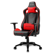 Sharkoon Elbrus 2 Universal gaming chair Padded seat Black, Red