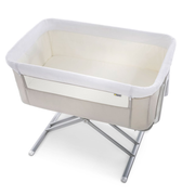 Hauck FACE TO ME baby travel bed Beige, White