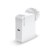 ALOGIC USB-C Wall Charger 60W' Travel Edition' Includes plugs for AU US EU and UK - WHITE