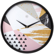 NeXtime Grace Quartz wall clock Round Multicolour