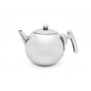 Bredemeijer Duet Bella Ronde Single teapot 1200 ml White