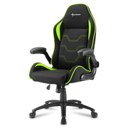 Sharkoon Elbrus 1 Universal gaming chair Padded seat Black, Green