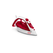 Tefal EasyGliss Plus FV5717 iron Dry & Steam iron Durilium soleplate 2400 W Red, White