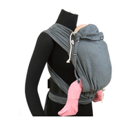 DIDYMOS 34985 baby carrier Baby hipseat Cotton Anthracite, Grey