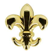 Spirella Lily Indoor Towel hook Gold