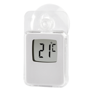 Hama 00186396 environment thermometer Electronic environment thermometer Indoor/outdoor White