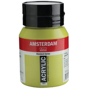 Amsterdam Standard acrylic paint 500 ml Green, Olive Bottle