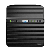Synology DiskStation DS420J NAS/storage server Compact Ethernet LAN Black RTD1296
