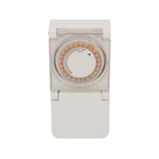 Max Hauri AG 104862 electrical timer White Daily timer