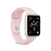 PURO ICON Apple Watch Band Rose Silicone