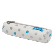 Herlitz Frozen Glam Soft pencil case Polyurethane Blue, Silver, White