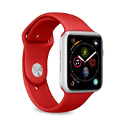 PURO ICON Apple Watch Band Red Silicone