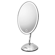 Rotel U552CH1 makeup mirror Freestanding Oval Stainless steel