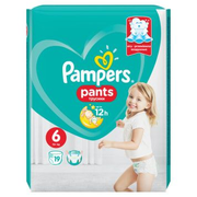 Pampers Pants Boy/Girl 6 19 pc(s)