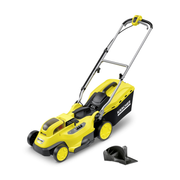Kärcher LMO 18-36 Battery Push lawn mower Black, Yellow
