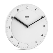 Braun BC06W Atomic wall clock Round White