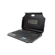 Gamber-Johnson 7160-1450-02 mobile device keyboard Black USB QWERTZ German
