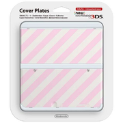 Nintendo New 3ds Coverplate Righe Oblique