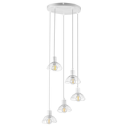 Activejet AJE-HOLLY 8 WHITE ceiling lamp