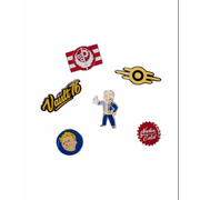 DIFUZED Fallout 76 - Set Of 6 Metal Pins