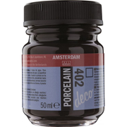 Amsterdam Porcelain acrylic paint 50 ml Brown Bottle