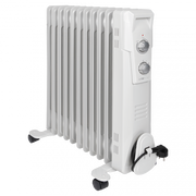 Clatronic RA 3737 Indoor White 2300 W Oil electric space heater
