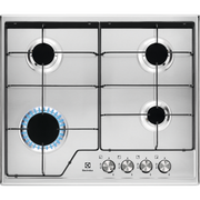 Electrolux CGS6424BX hob Stainless steel Built-in 60 cm Gas 4 zone(s)