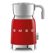 Smeg MFF01RDEU milk frother Automatic milk frother Red