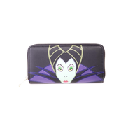 Disney Maleficient 2 - Ladies Patched Zip Around wallet Female Multicolour