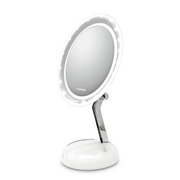 Rotel U553CH1 makeup mirror Freestanding Oval Grey, White