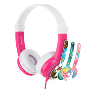 BuddyPhones Connect Headphones Head-band 3.5 mm connector Pink