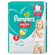 Pampers Pants Boy/Girl 5 22 pc(s)