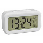 TFA-Dostmann 60.2018.02 alarm clock Digital alarm clock White