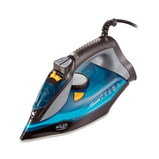 Adler AD 5032 iron Dry iron Ceramic soleplate 2400 W Black, Blue, Grey