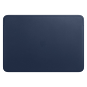 Apple Leather Sleeve for 16-inch MacBook Pro - Midnight Blue