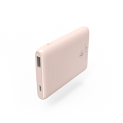 Hama SLIM 5HD power bank Lithium Polymer (LiPo) 5000 mAh Pink