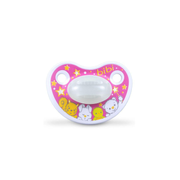bibi Happiness Classic baby pacifier Orthodontic Silicone Pink, White, Yellow
