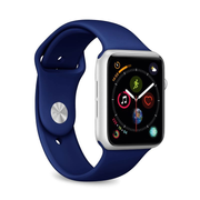 PURO ICON Apple Watch Band Navy Silicone
