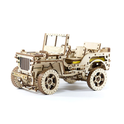 Wooden City 4x4 Jeep 3D puzzle
