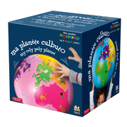 Caly Toys Inflatable Globe My Planet Culbuto Blue