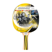 Donic Schildkröt Top Team 500 Rubber, Wood Black, Wood, Yellow 1 pc(s)