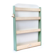 Tender Leaf Toys Forest Bookcase Green, White, Wood