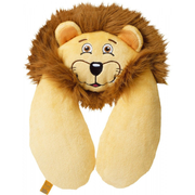 Go Travel Lion travel pillow Brown, Yellow