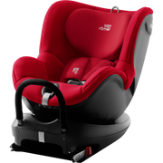 Britax Römer DUALFIX 2 R baby car seat 0+/1 (0 - 18 kg; 0 - 4 years) Black, Red