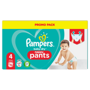 Pampers Baby-Dry Pants Size 4, 96 Nappies, 9kg-15kg