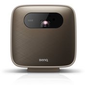 Benq GS2 data projector Portable projector 500 ANSI lumens DLP 1080p (1920x1080) Brown, Grey