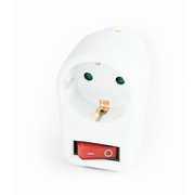 EnerGenie EG-AC1S-01-W surge protector White 1 AC outlet(s) 220 - 250 V