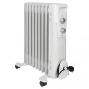 Clatronic RA 3736 Indoor White 2000 W Oil electric space heater